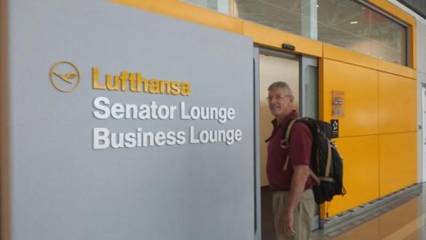 rick-spain-trip-lufthansa-lounge