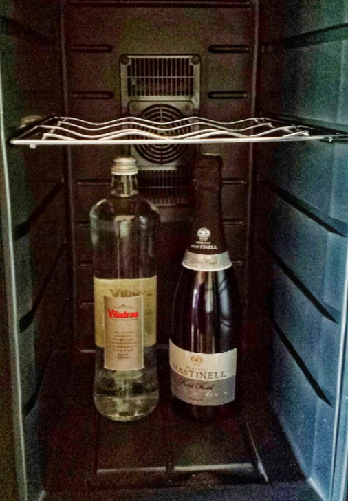 hotel-mastinell-vilafranca-del-penedes-wine-fridge