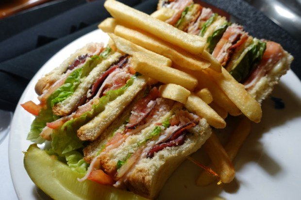 Sheraton Atlanta Airport Room Service Club Sandwich