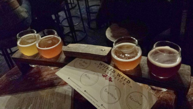 funkatorium-asheville-nc-beer-flight