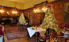 Biltmore Estate Christmas upstairs sitting room