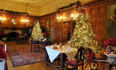 Biltmore Estate Christmas upstairs sitting room