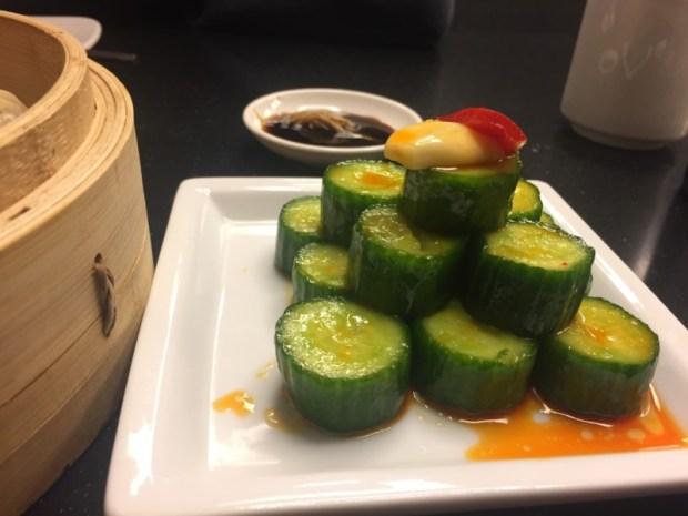 Chili cucumbers