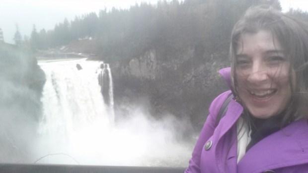 Snoqualmie Falls Seattle keri rain