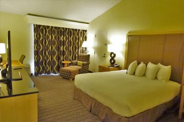 Doubletree Berkeley Marina Hotel Review King room