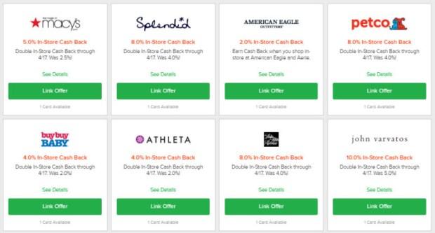 Ebates In Store Cashback