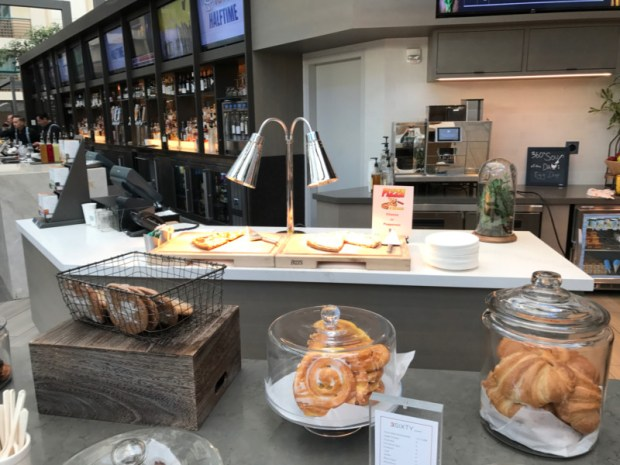 hyatt regency san francisco airport grab and go fresh pastries