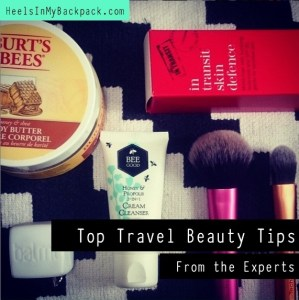 Top Travel Beauty Tips From The Experts
