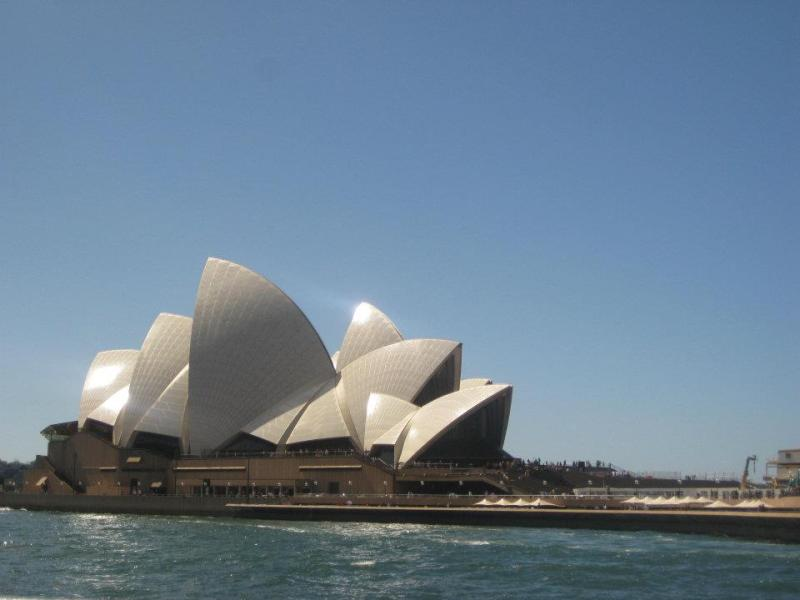 Sydney Opera House - View from the Ferry