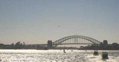 View from the Ferry - Sydney Harbour