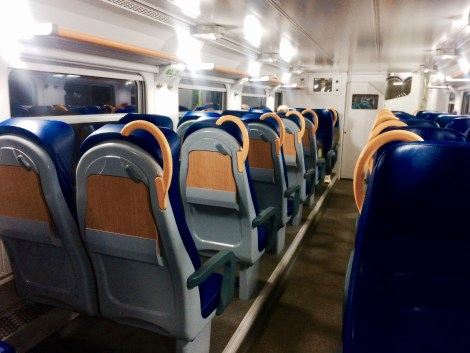 Italy Train Travel - Second Class