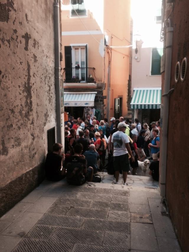 Vernazza Crowds