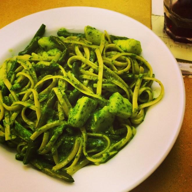 Pesto from Cavour 21 Trattoria