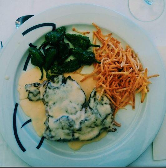 Steak For Lunch in Barcelona