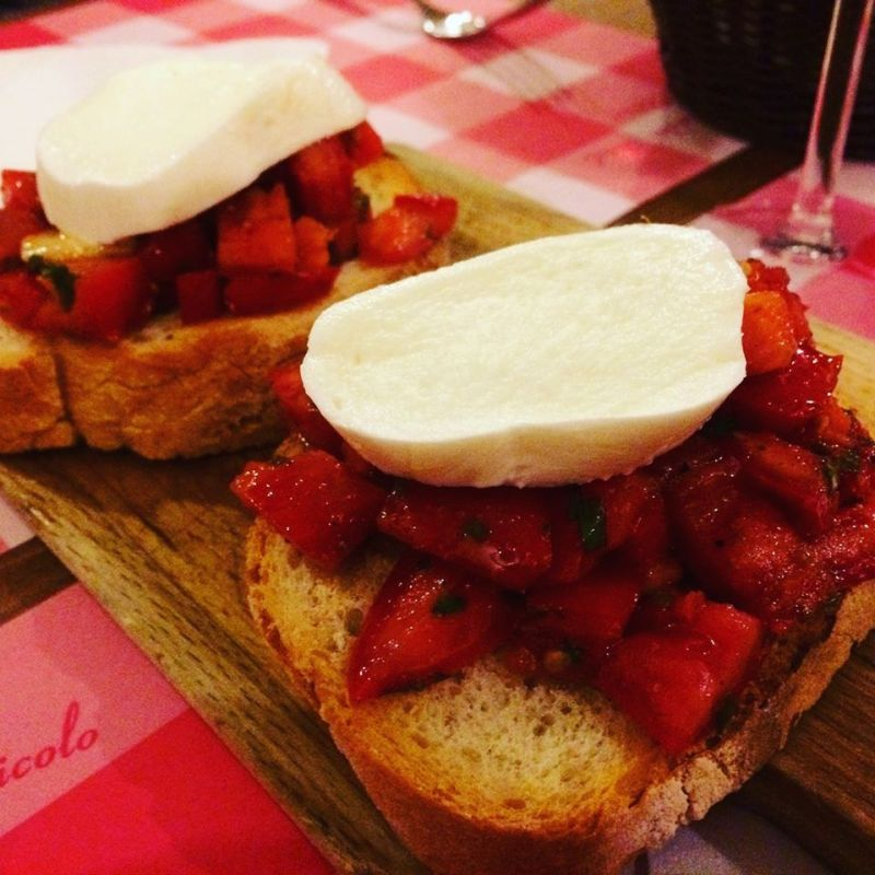 Bruschetta in Florence