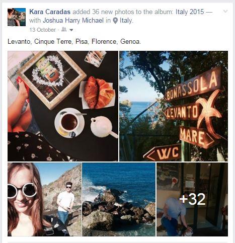 Facebook Italy Album