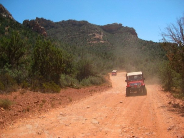 Red Jeep Tour in Sedona