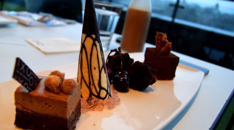Chocolate Decadence at Oxo Tower's Not Afternoon Tea