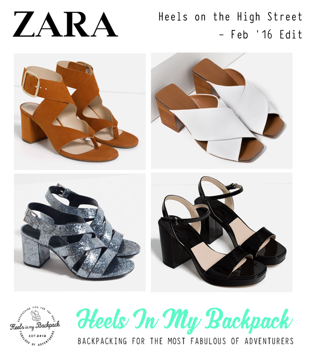 Heels On The High Street - Feb 16 Zara