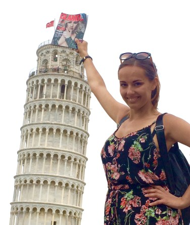 Glamour To Go in Pisa