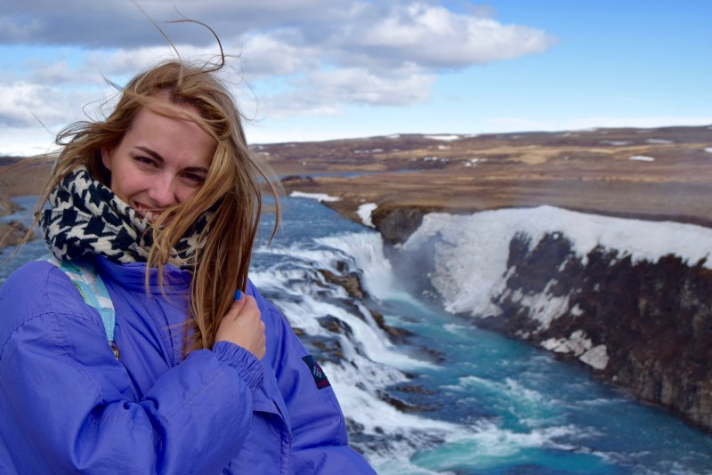 Gullfoss waterfalls, Iceland with Reykjavik Excursions