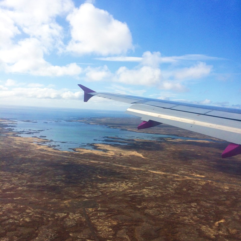 WOW Air landing in Iceland