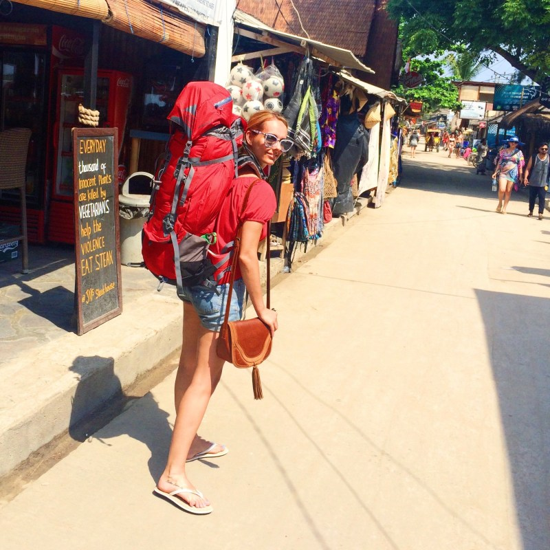 Gili T backpacker