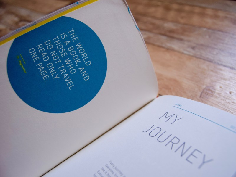 My Way travel journal by Marco Polo
