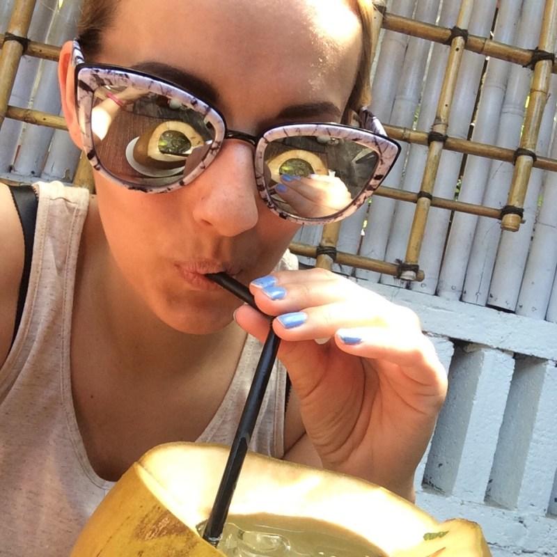 Quay sunglasses in Ubud, Bali