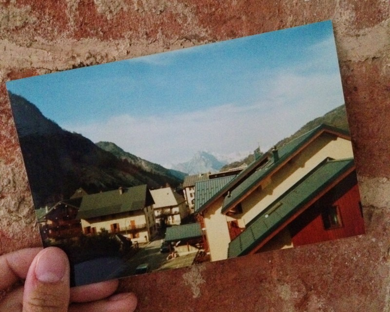 Valloire ski trip 2002