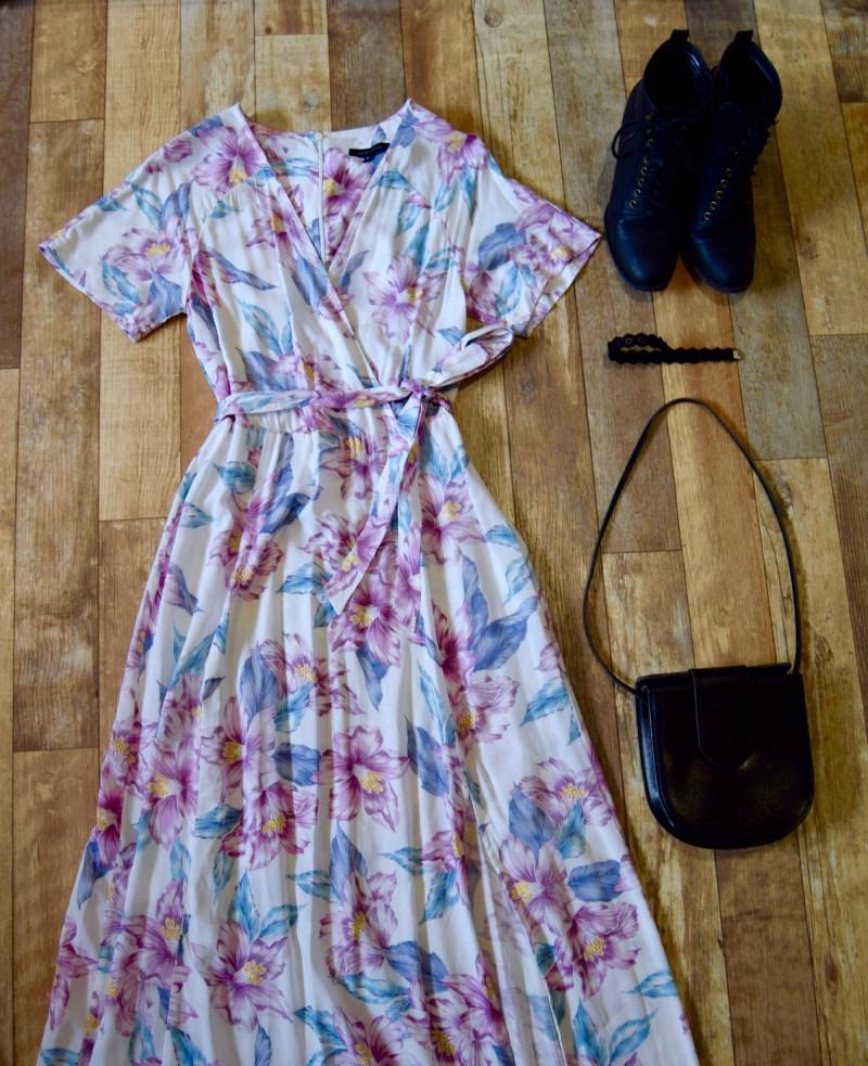 New Look maxi dress, Prague