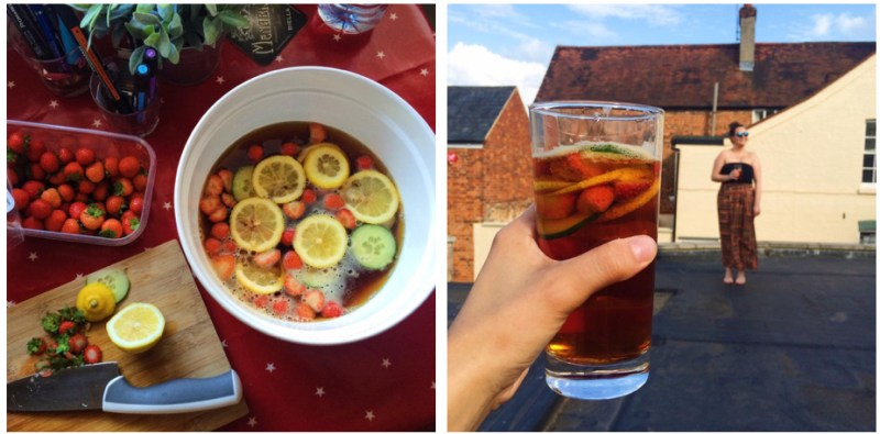 Pimms in the UK