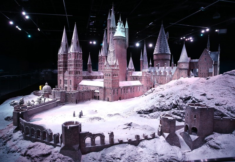 Hogwarts In The Snow At Warner Bros. Studio Tour London
