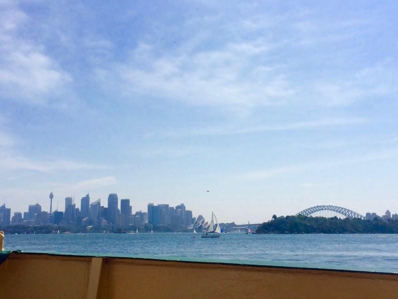 Ferry view, Taronga Zoo