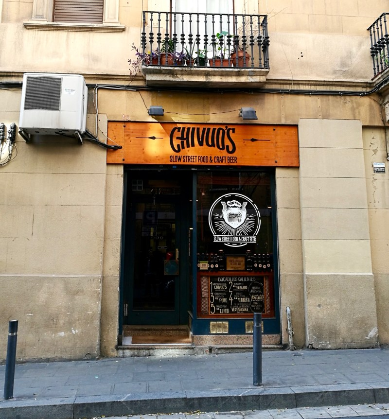 Chivuo's Slow Street Food, BCN