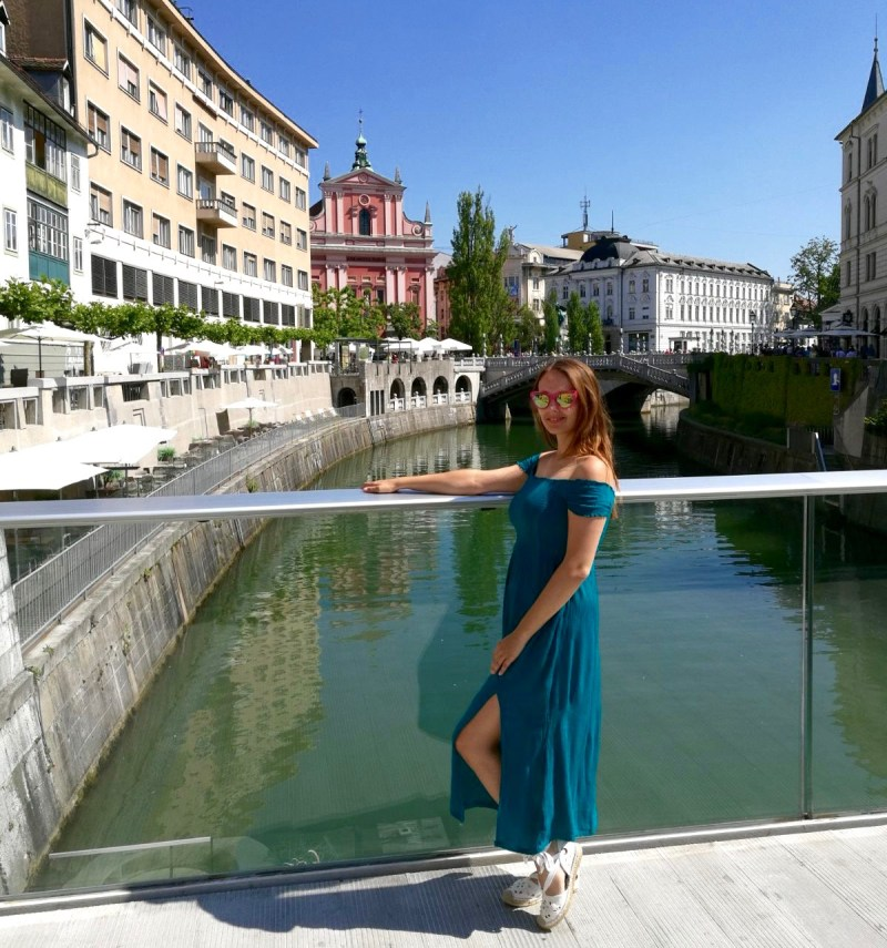 Superdry Teal Midi Dress - Ljubljana