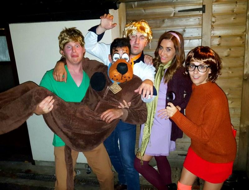 Scooby Doo Gang, Halloween 2015