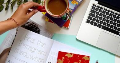 Blog Life Flat Lay