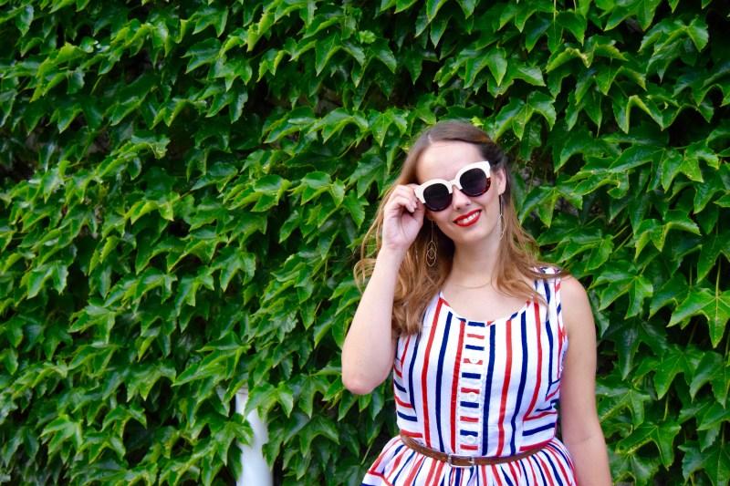 Joanie Dylan Stripe Dress