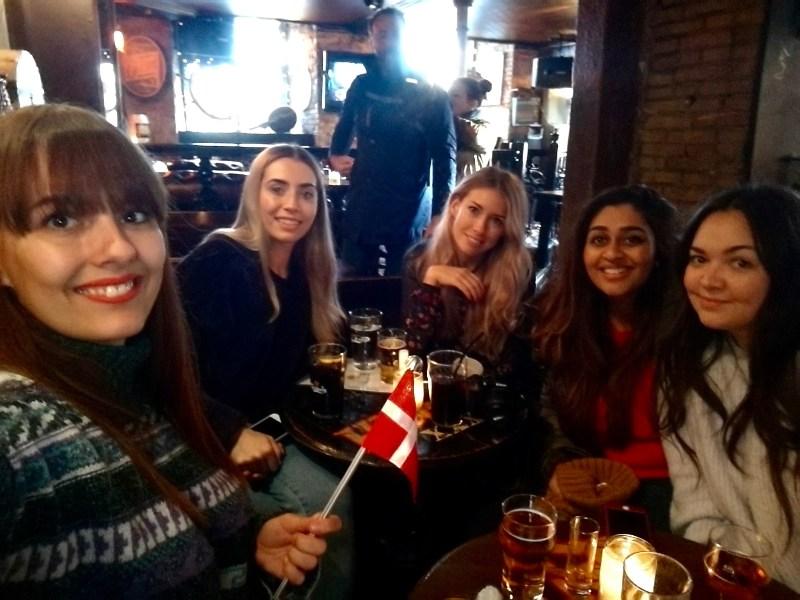 Travelling with pals in Copenhagen