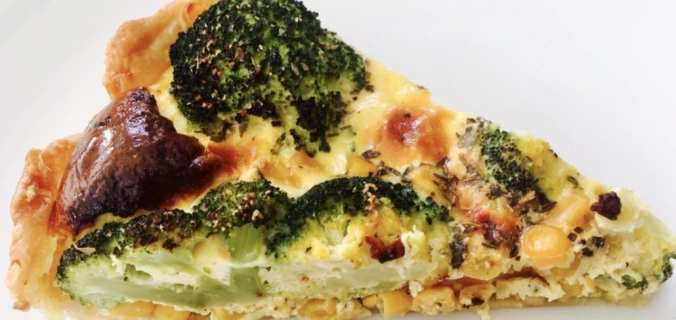 Broccoli mais quiche
