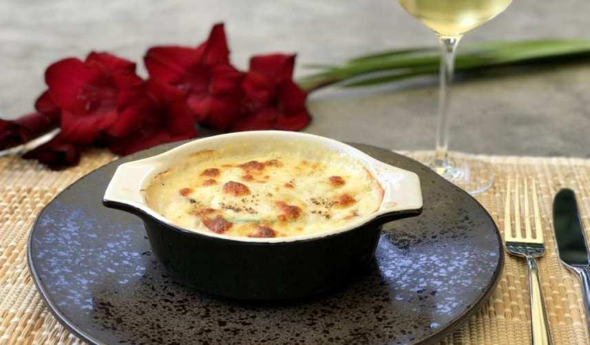 Courgette-witlof lasagne