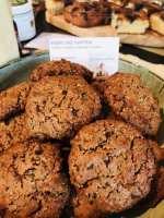 chocolat chip cookies van kastanjemeel