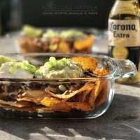 tortilla bowl met guacamole