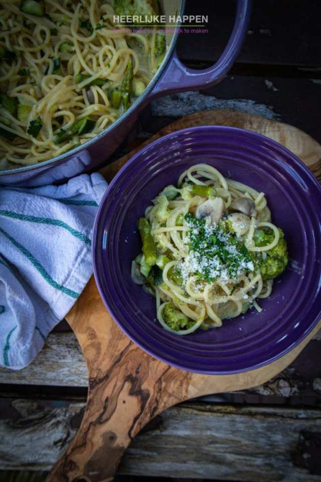 Een echte klassieker pasta Primavera