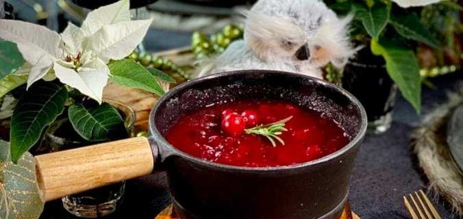 Een kerstklassieker cranberrysaus
