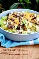 Overheerlijke homemade Big Mac salade