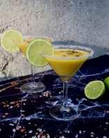 Frisse mango margarita cocktail