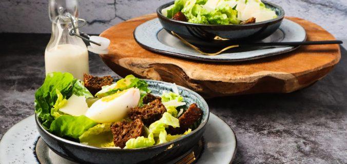 basisrecept klassieke ceasar salade