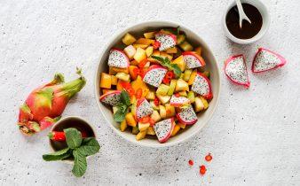 Indische fruitsalade Roedjak Manis